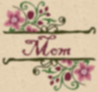 Mother's Day Design Image MOM