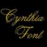 Cynthia Font Design Image