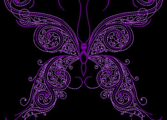 Butterfly Flourish Design 3