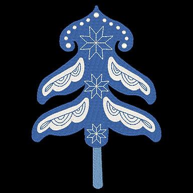 Scandie Christmas Tree 1 Design