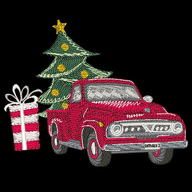 Christmas Truck Design