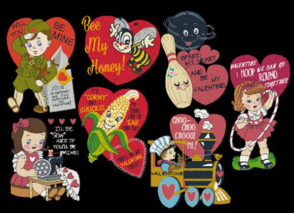Vintage Valentines ALL
