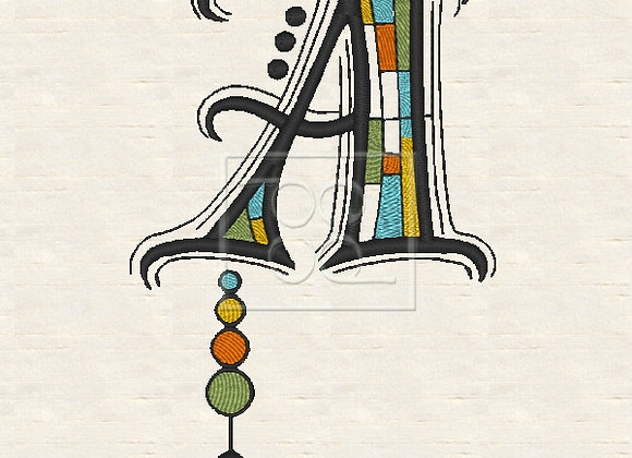 Zen Alpha Letter A