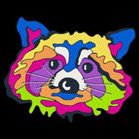 Pop Art Raccoon