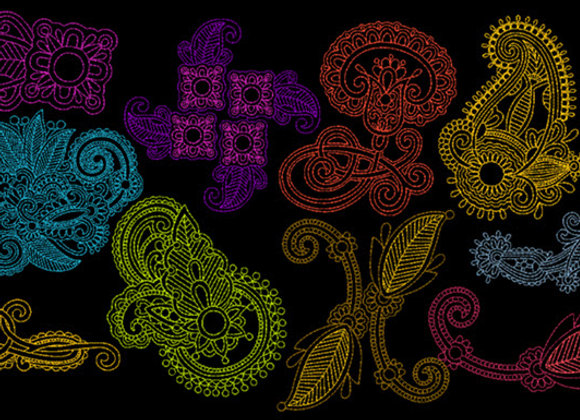 Paisley Design Collection