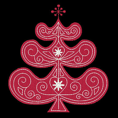 Scandie Christmas Tree 2 Design