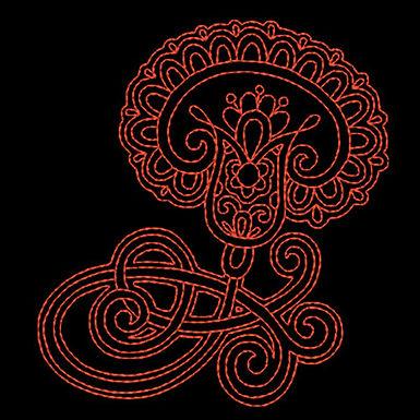 Paisley Design 1