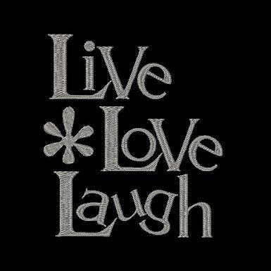 WWS - Live, Love, Laugh Design