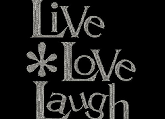 WWS - Live, Love, Laugh Design