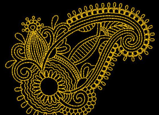 Paisley Design 7