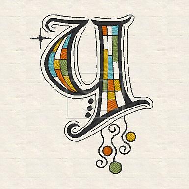 Zen Alpha Letter Y