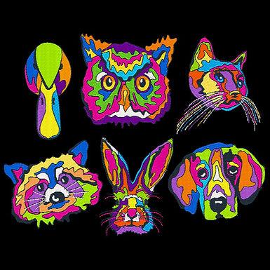 Pop Art Animals All