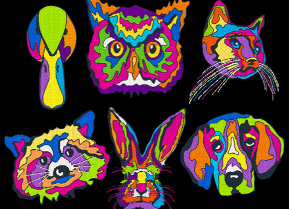 Pop Art Animals All