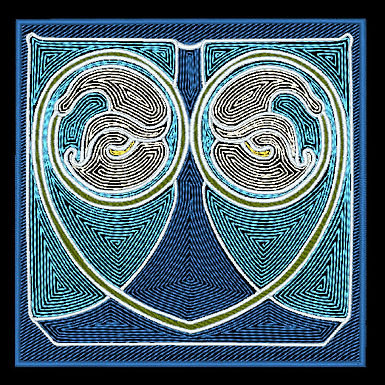 Art Nouveau Tile Design 1