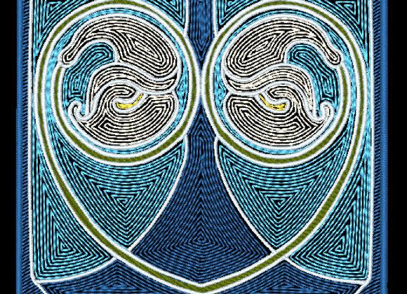 Art Nouveau Tile Design 1