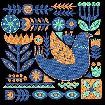 Birds & Blooms Design 3 Image
