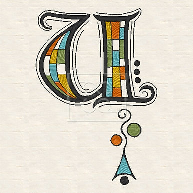 Zen Alpha Letter U