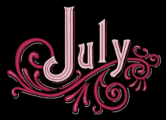 Months of the Year - July