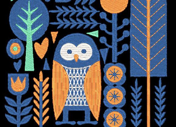 Birds & Blooms Design 01
