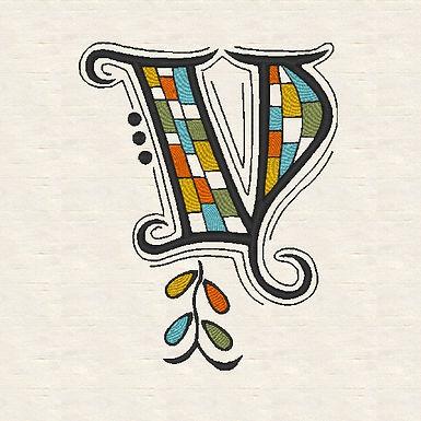 Zen Alpha Letter V