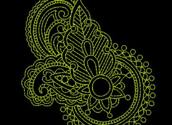 Paisley Design 4