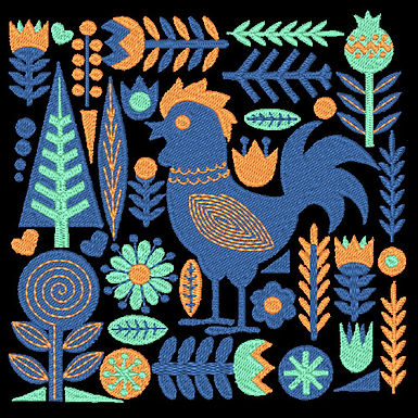 Birds & Blooms Design 03