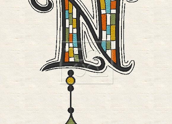Zen Alpha Letter N