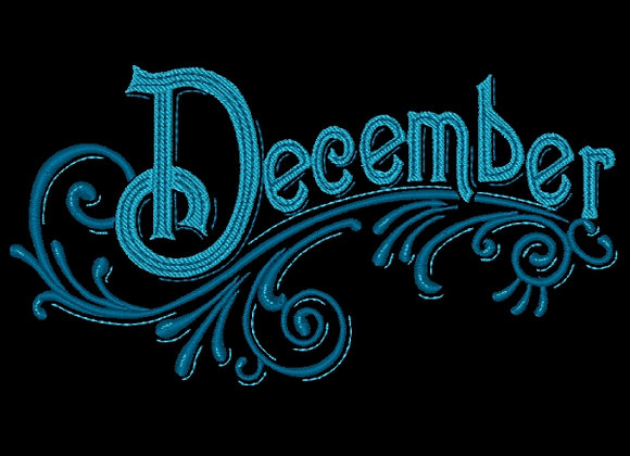 Months of the Year - December