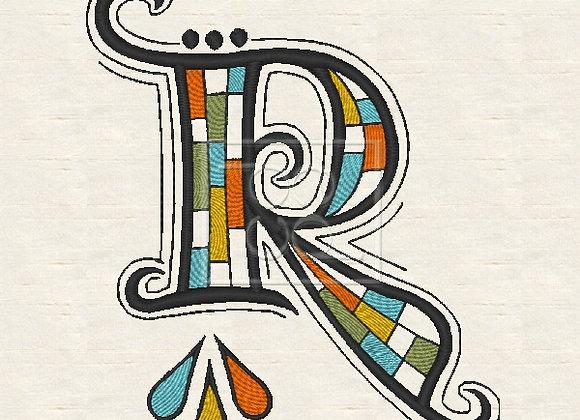 Zen Alpha Letter R