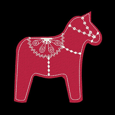 Scandie Christmas 1 Horse Design
