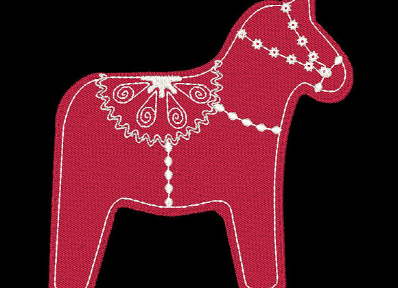 Scandie Christmas 1 Horse Design