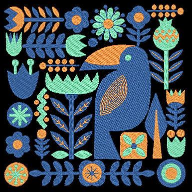 Birds & Blooms Design 02