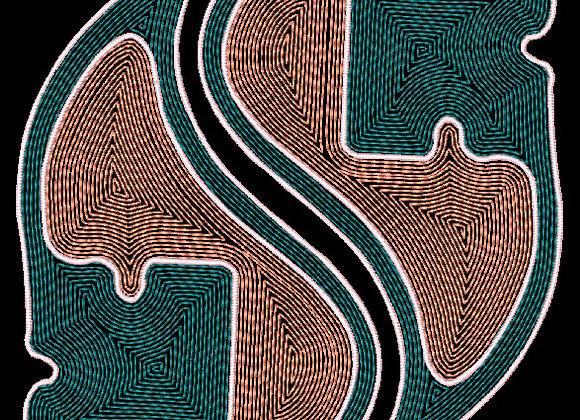 Art Nouveau Tile Design 7