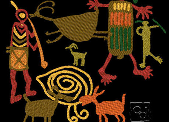 Cultural Art Collection 6 -North American Indian Rock Art