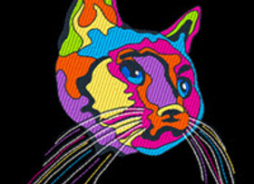 Pop Art Cat