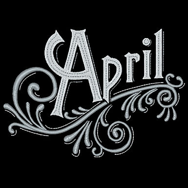 Months of the Year - April