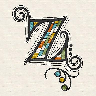 Zen Alpha Letter Z