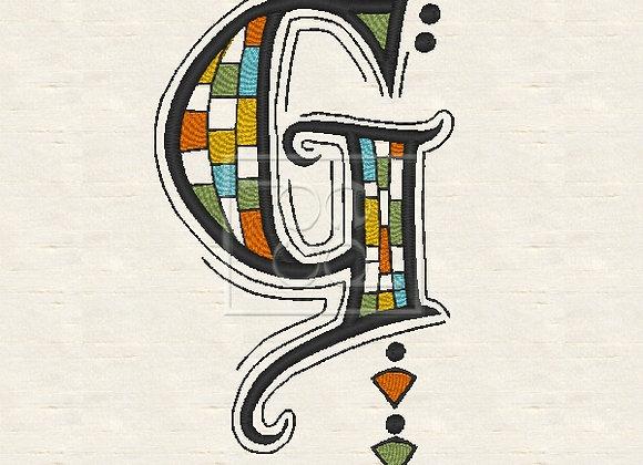Zen Alpha Letter G