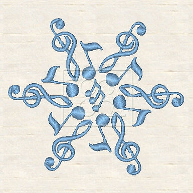 Music Snowflake 3
