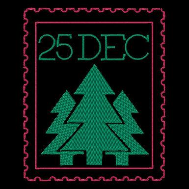 25 Dec Stamp