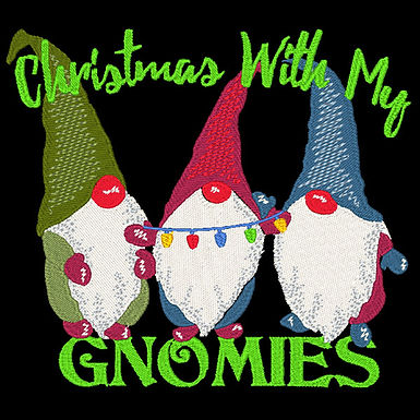 Christmas Gnomies Design