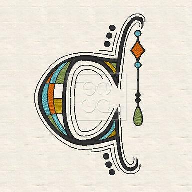 Zen Alpha Letter C