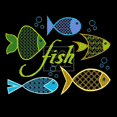 5 Fishies Design