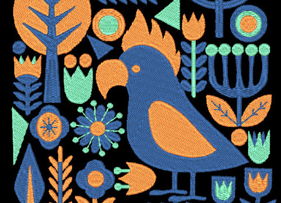 Birds & Blooms Design 05