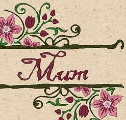 Mothers Day Design Image MUM