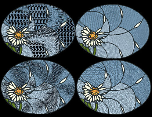 Stained Glass - Daisy Designs