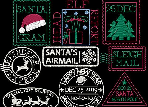 Christmas Stamps All