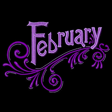 Months of the Year - February