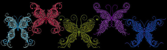 Butterfly Flourish Collection