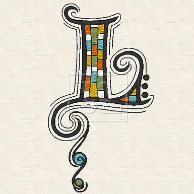 Zen Alpha Letter L